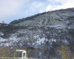 Aire naturelle de l'Aigoual - Bassurels - La neige c tellement beau