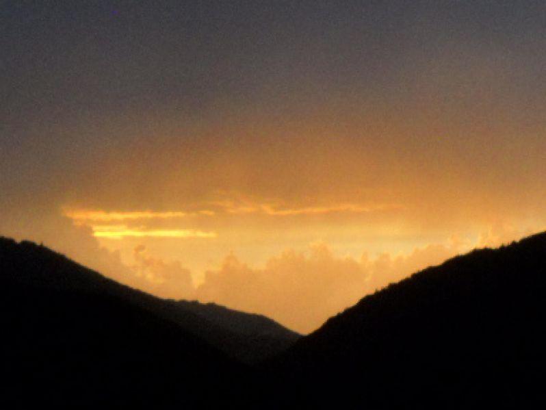 Le ciel après un jolie orage...