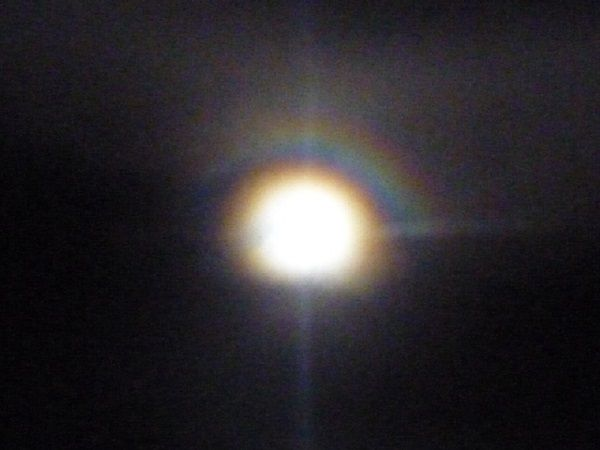 Lune arc en ciel